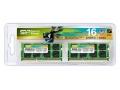 シリコンパワー メモリモジュール 204Pin SO-DIMM DDR3-1600(PC3-12800) 8GB×2枚組 SP016GBSTU160N22